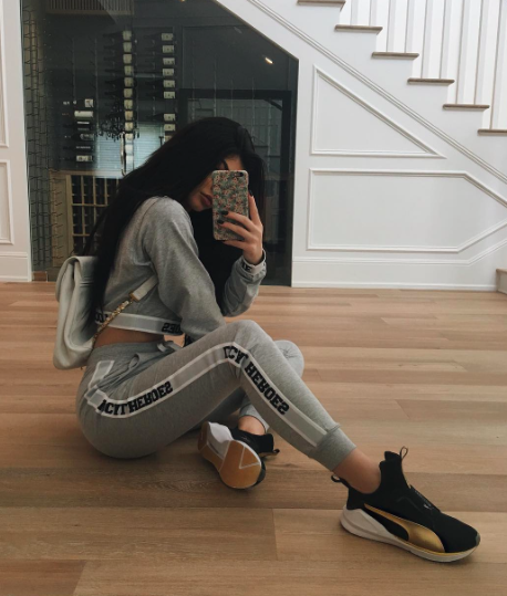 Kylie Jenner dans sa luxueuse villa