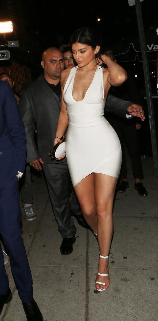 Kylie Jenner et Tyga le 22 novembre 2015
