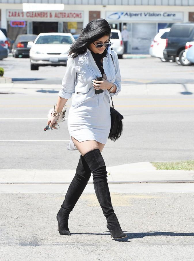 Photos : Kylie Jenner clashée, Justin Bieber s'en mêle !