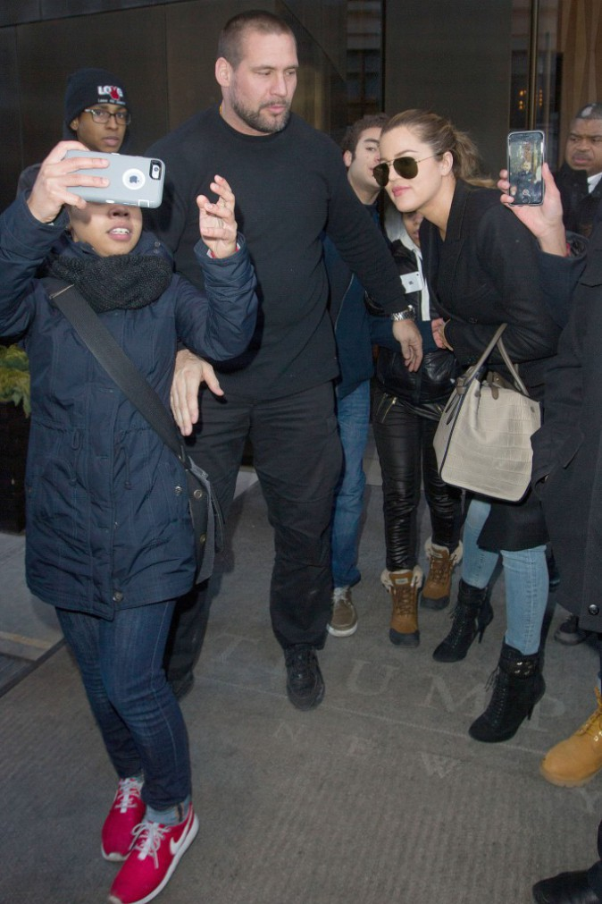 Khloe Kardashian le 11 février 2015