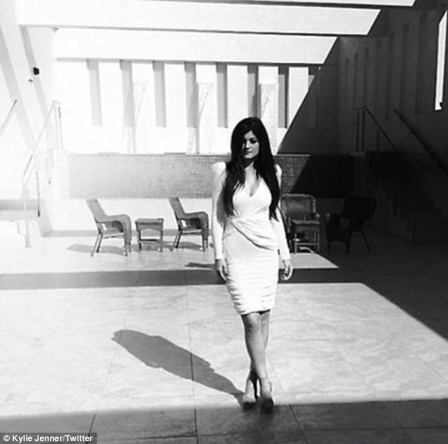Kyile Jenner dans un nouveau shooting...