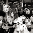 Kylie Jenner et sa bande : Willow Smith, Hailey Baldwin et Jaden Smith à New-York le 27 février dernier !
