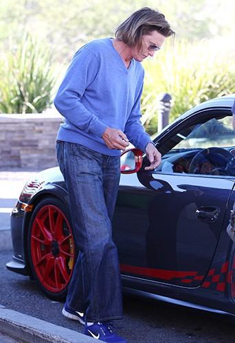 Bruce Jenner à Los Angeles le 14 février 2014
