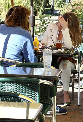 Bruce Jenner et Khloé Kardashian à Los Angeles le 14 février 2014