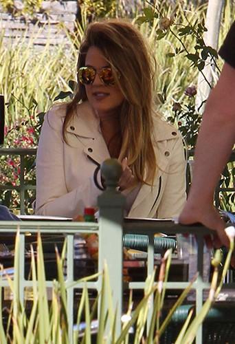 Khloé Kardashian à Los Angeles le 14 février 2014
