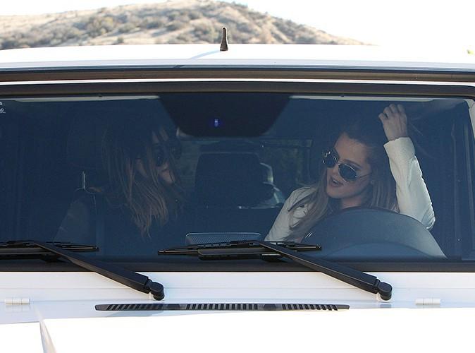 Kylie Jenner et Khloé Kardashian à Los Angeles le 14 février 2014