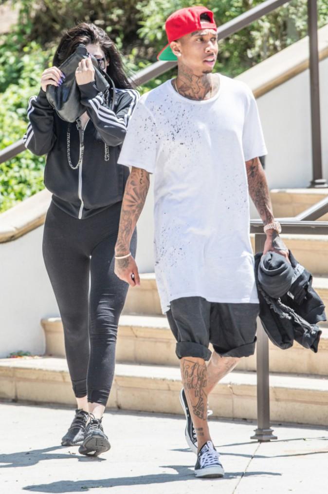 Kylie Jenner et Tyga le 22 août 2015