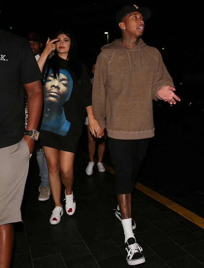 Kylie Jenner et Tyga assistent à un spectacle ce samedi 27 août à Las Vegas !