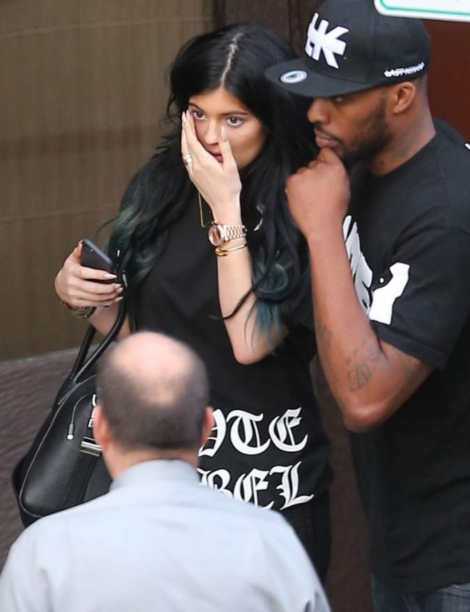 Photos : Kylie Jenner et Tyga : c'est le big love à Beverly Hills !