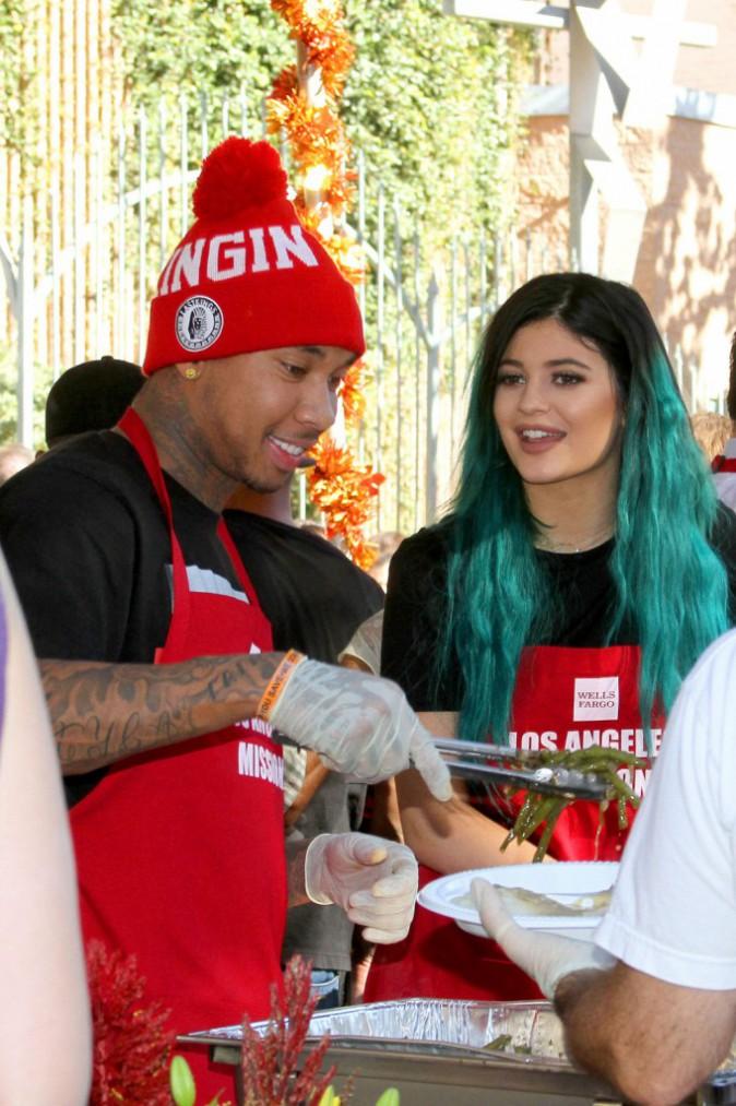Kylie Jenner et Tyga à Los Angeles le 26 novembre 2014