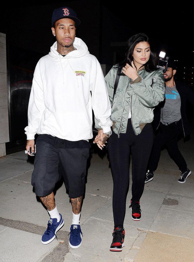 Kylie Jenner et Tyga ne font même plus attention aux paparazzi