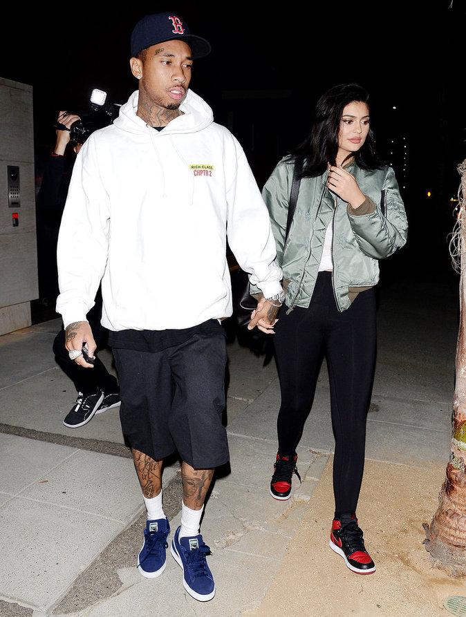 Kylie Jenner et Tyga semblent plus heureux que jamais