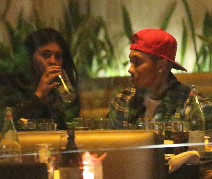 Photos : Kylie Jenner et Tyga : premier dîner en amoureux à New York !