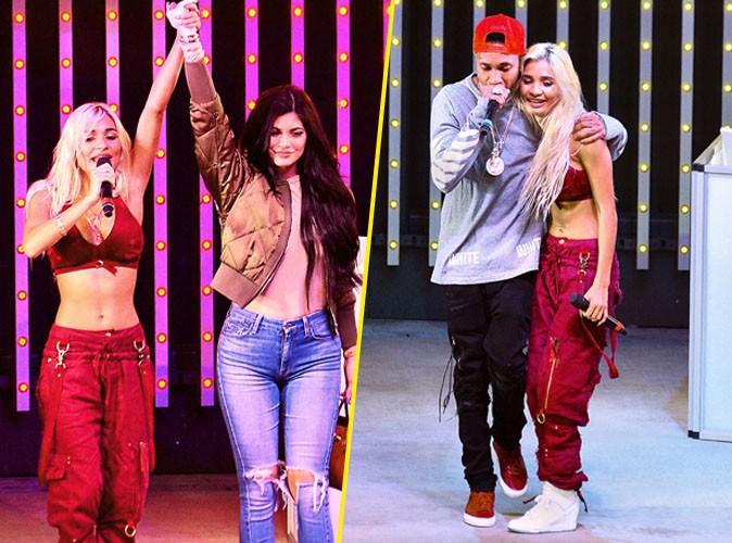 Kylie Jenner, Tyga et Pia Mia le 23 août 2015