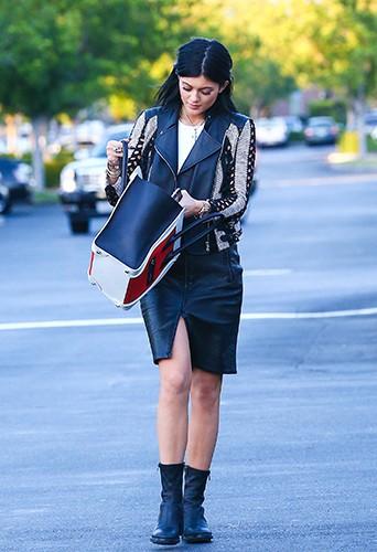 Kylie Jenner à Los Angeles le 26 août 2014
