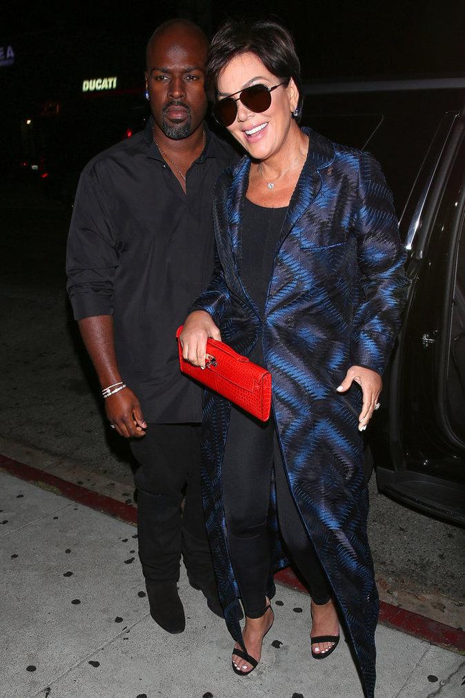 Kris Jenner et Corey Gamble le 31 juillet 2016 à Los Angeles