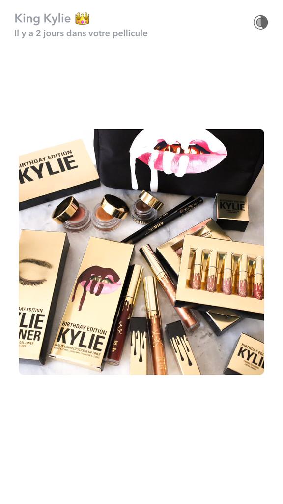 La nouvelle gamme de maquillage de Kylie Jenner