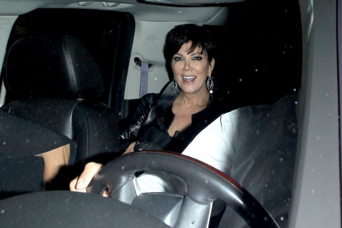 Kris Jenner à la fête d'anniversaire de Kylie organisée à Los Angeles le 17 août 2013