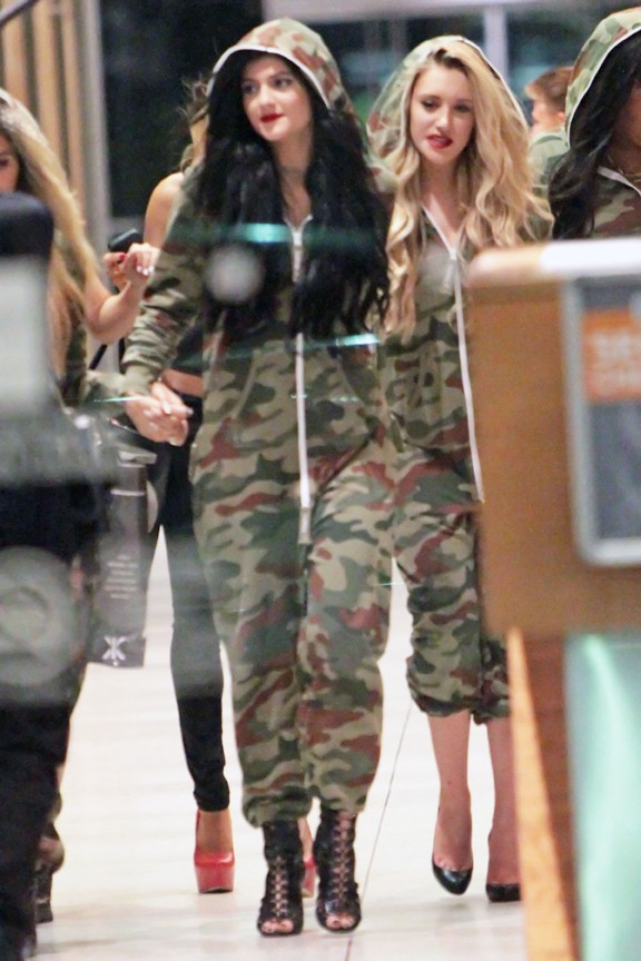 Kylie Jenner à sa fête d'anniversaire organisée à Los Angeles le 17 août 2013
