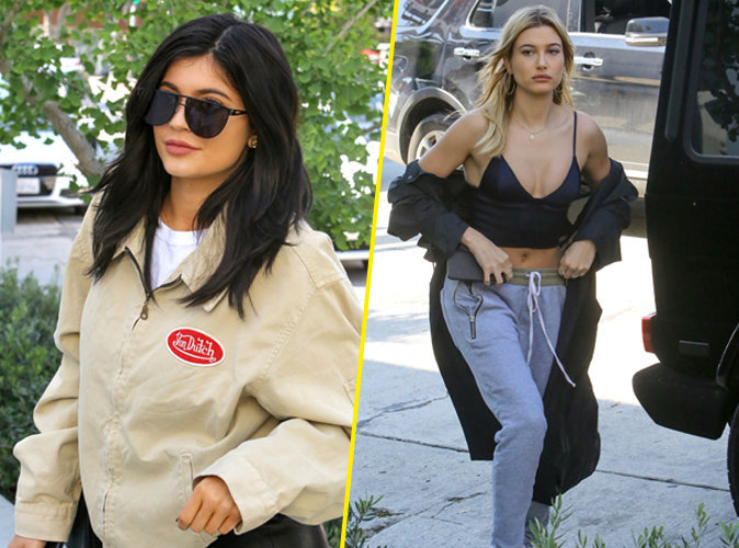 Kylie Jenner et Hailey Baldwin