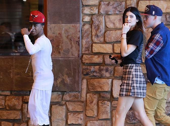 Kylie Jenner et Lil Twist à Los Angeles le 2 novembre 2013