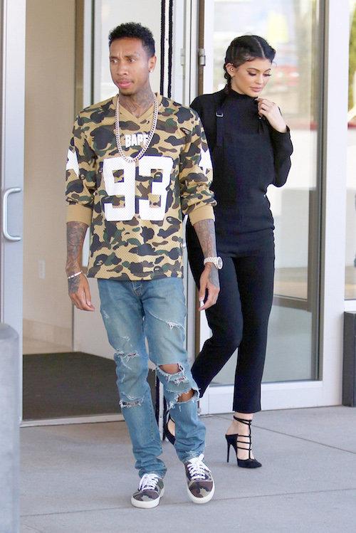 Photos : Kylie Jenner : inséparable de Tyga, elle le rejoint même sur scène !