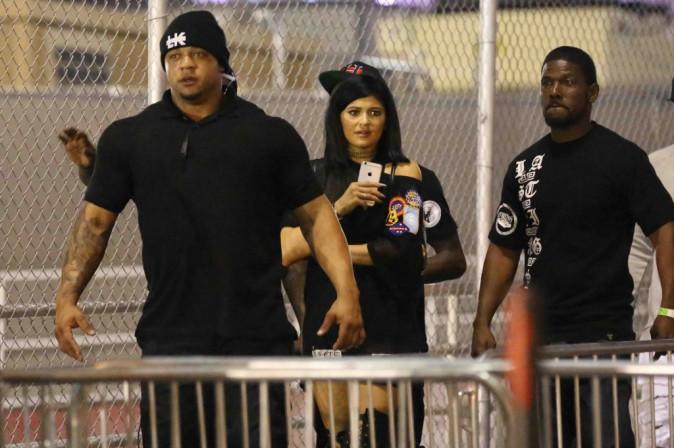 Kylie Jenner : jamais bien loin de son Tyga, même quand il est en concert...