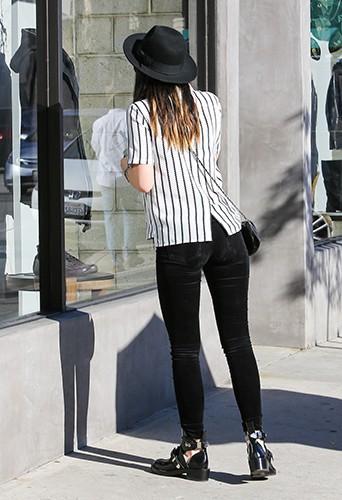 Kylie Jenner à Los Angeles le 27 décembre 2013