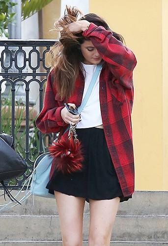 Kylie Jenner à Los Angeles le 3 janvier 2014