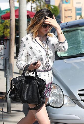 Kylie Jenner à Los Angeles le 8 avril 2014