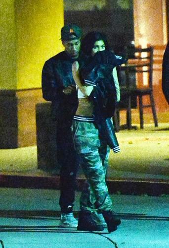 Photos : Kylie Jenner ne sort plus sans Tyga !
