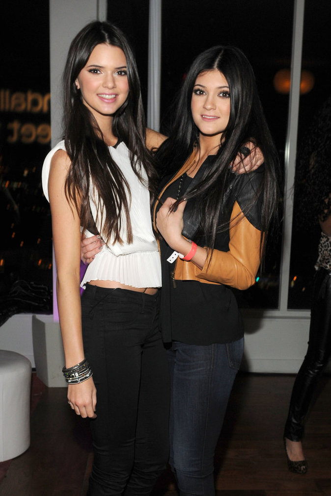 Kendall et Kylie en 2011