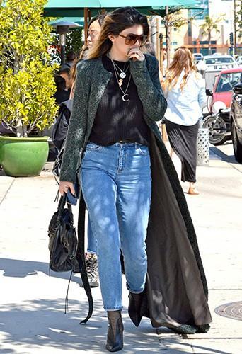 Kylie Jenner à Los Angeles le 7 avril 2014