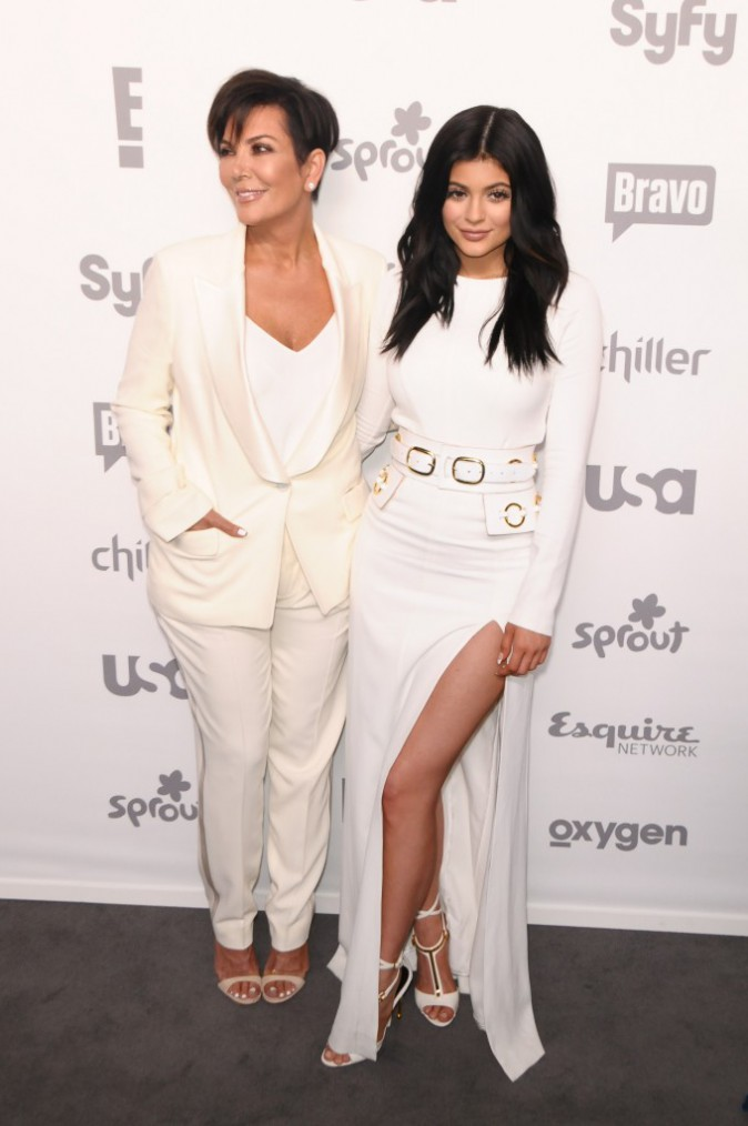 Kylie Jenner et Kris Jenner le 14 mai 2015