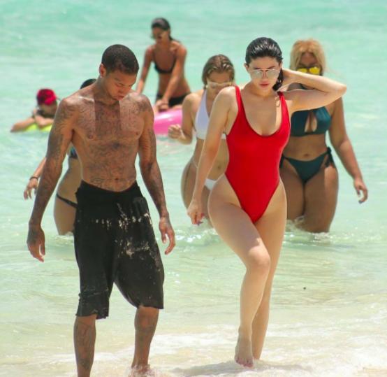 Kylie Jenner et Tyga en vacances dans les îles Turks & Caicos