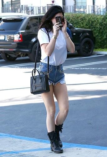 Kylie Jenner à Los Angeles le 1er octobre 2013