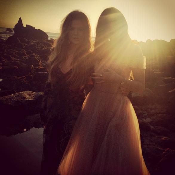 Khloé Kardashian et Kylie Jenner
