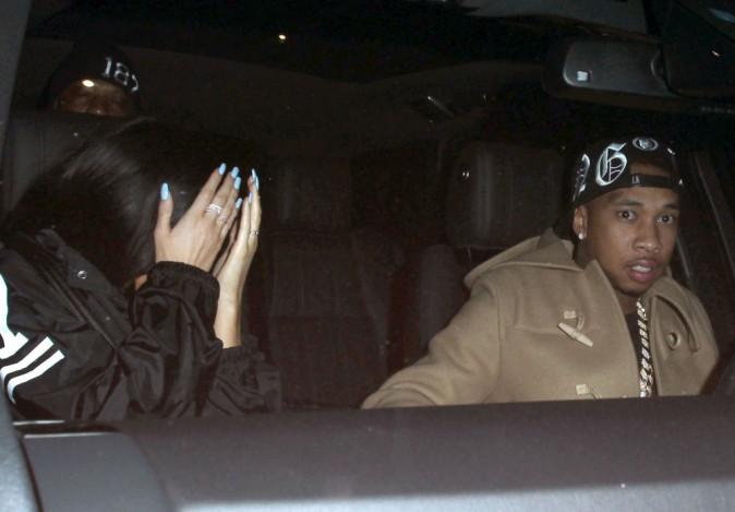 Kylie Jenner et Tyga le 9 janvier 2015
