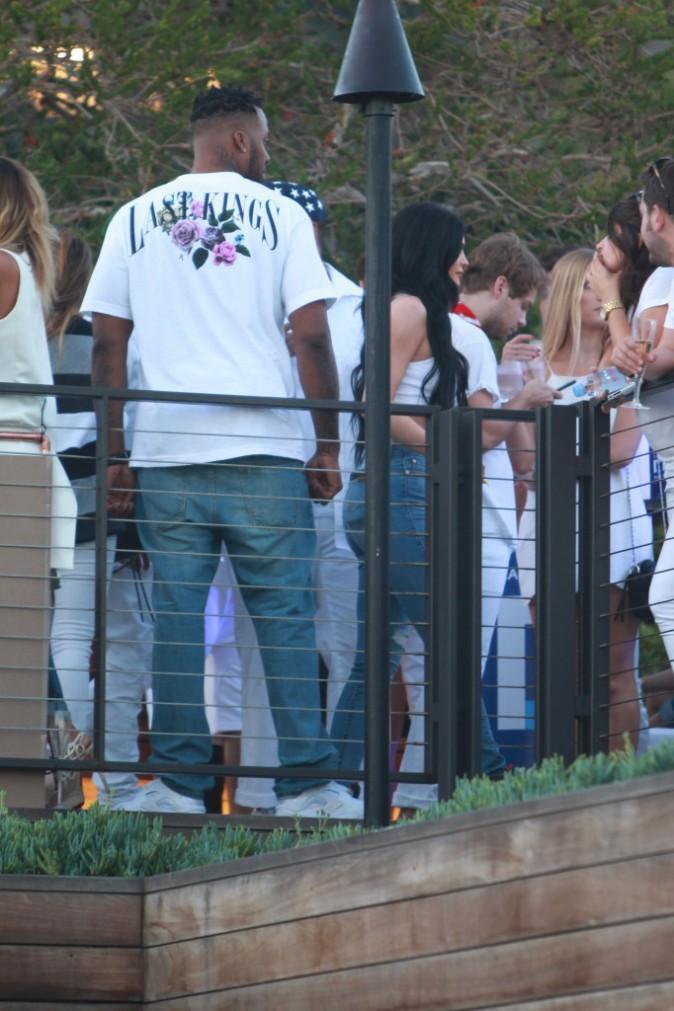 Kylie Jenner le 4 juillet 2015