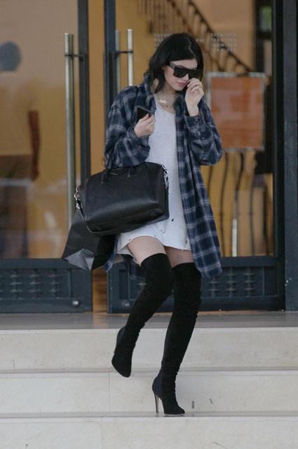 Kylie Jenner à Beverly Hills le 24 octobre 2014