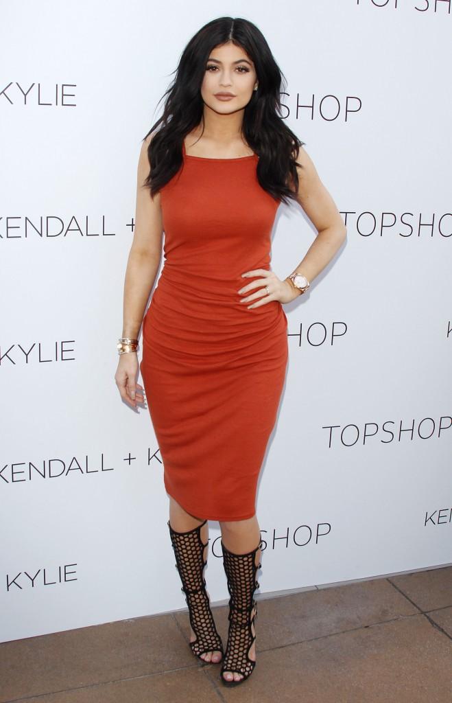 Kylie Jenner le 3 juin 2015