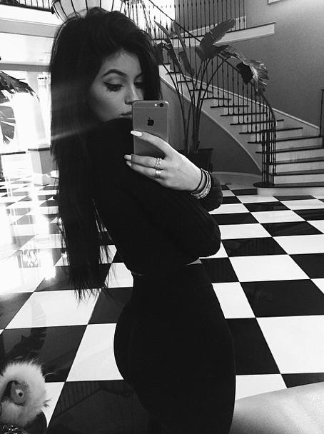 Kylie Jenner le 5 avril 2015