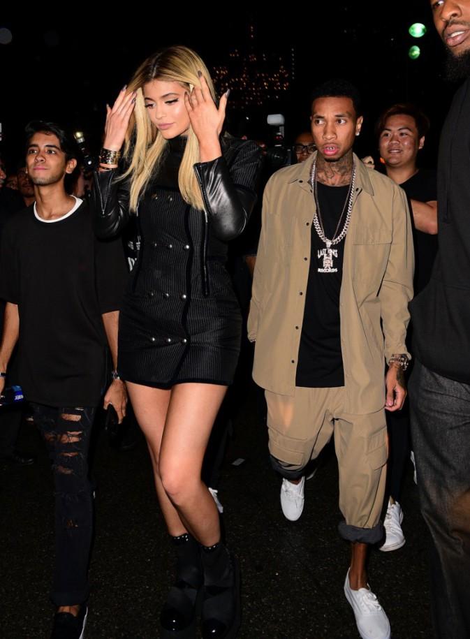 Kylie Jenner et Tyga à New York le 12 septembre 2015