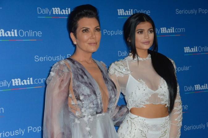 Kylie et Kris Jenner le 24 juin 2015