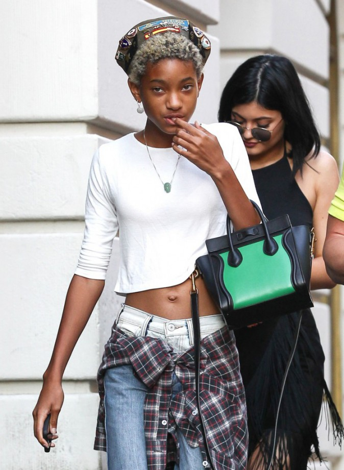 Photos : Kylie Jenner : virée stylée à New York avec sa BFF Willow Smith !