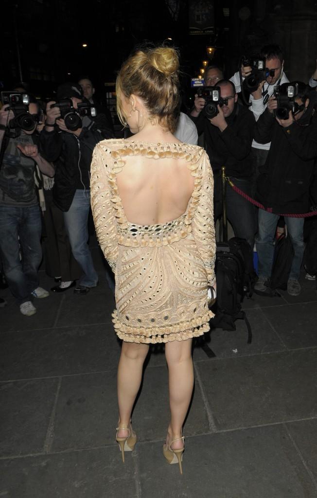 Kylie Minogue lors de la première de The Hurly Burly Show à Londres, le 6 avril 2011.