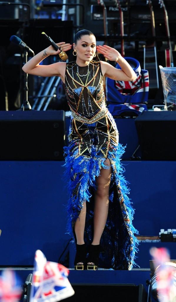 Jessie J était là pour mettre l'ambiance !