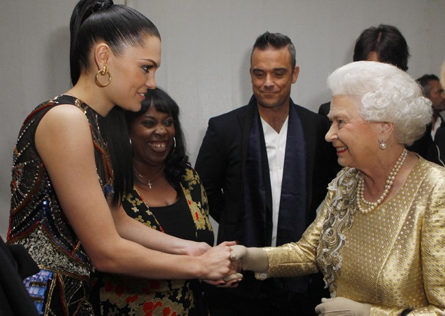 Jessie rencontre la Reine !