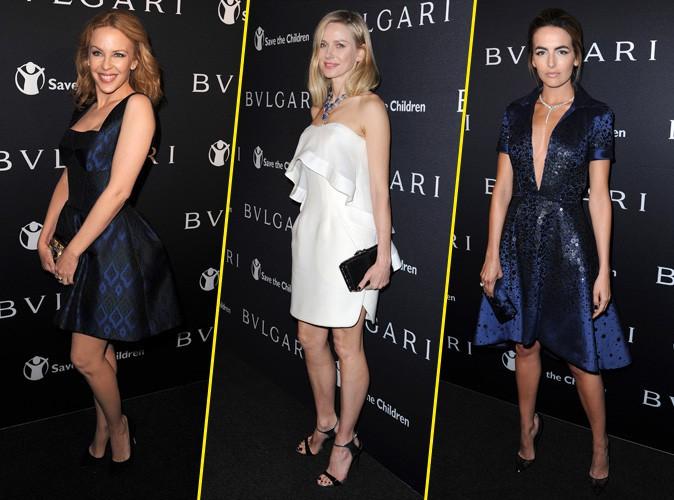 Kylie Minogue, Naomi Watts, Camilla Belle... Ribambelle de stars à la soirée Bulgari !