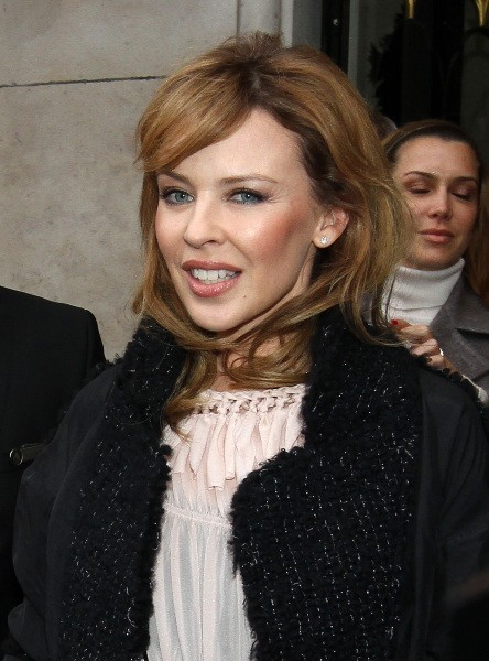 Kylie Minogue le 29 octobre 2012 à Paris